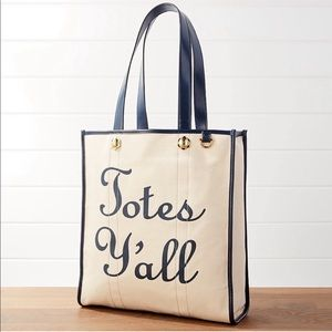 NWT Draper James Totes Y'all Tote Bag Purse